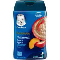 سرلاک جو دوسر ٬ هلو و سیب پروبیوتیک بدون شیر گربر Gerber