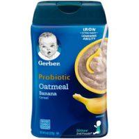 سرلاک جو دوسر و موز پروبیوتیک بدون شیر گربر Gerber